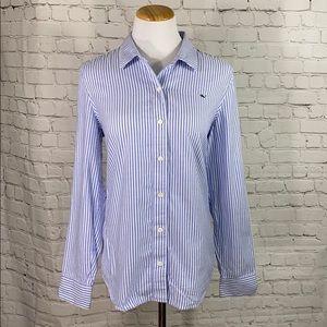 Vineyard Vines striped button down shirt